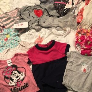 Baby Girl's 12 Month Clothing Bundle